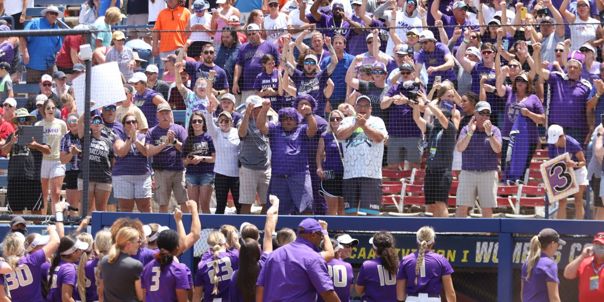 Making History: JMU Softball upsets No. 1 Oklahoma 4-3 in first-ever WCWS appearance