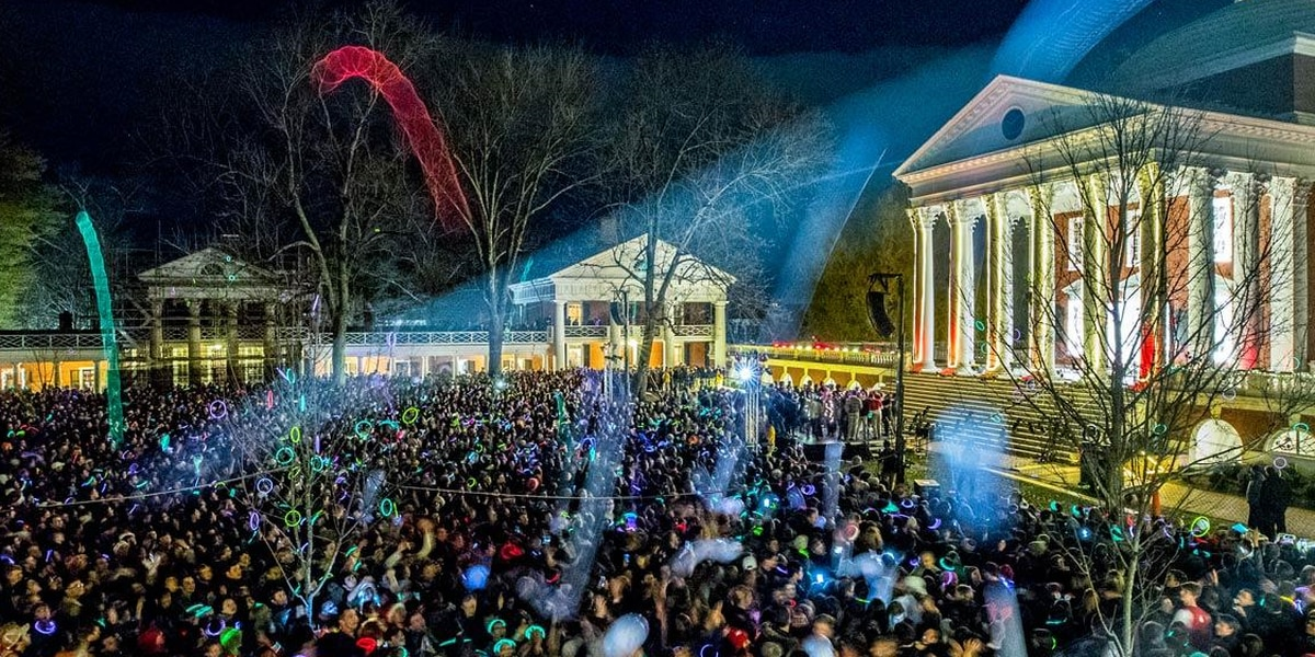 UVA Lighting of the Lawn goes virtual