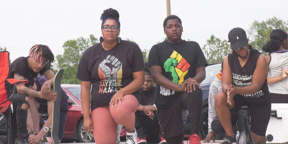 Waynesboro sees Black Lives Matter march on anniversary of George Floyd's killing