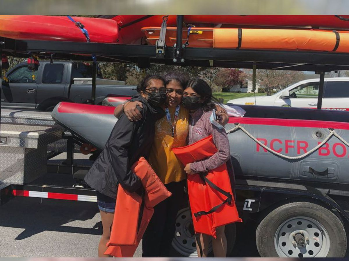 Family encourages water safety after swift water rescue earlier this week