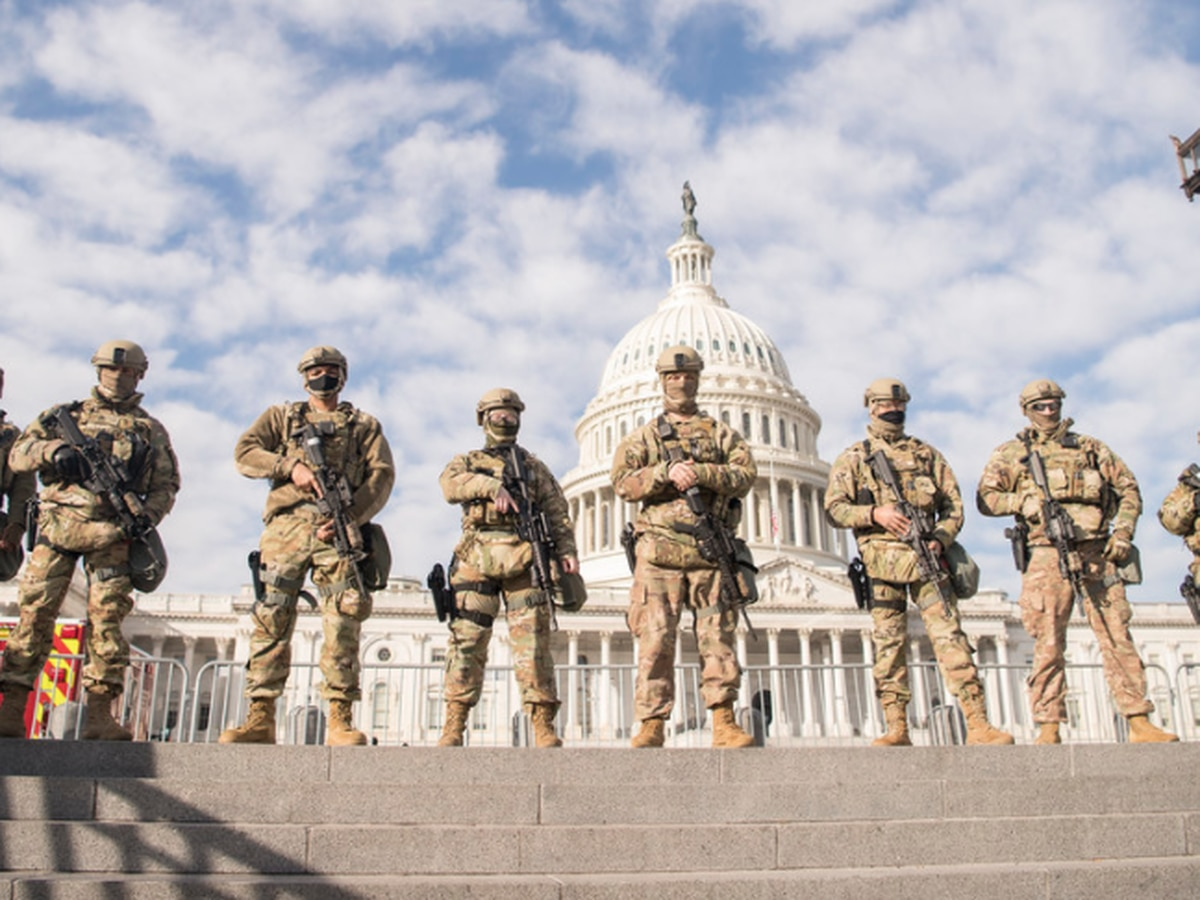 About 2,400 Virginia National Guard members in DC leading up to inauguration