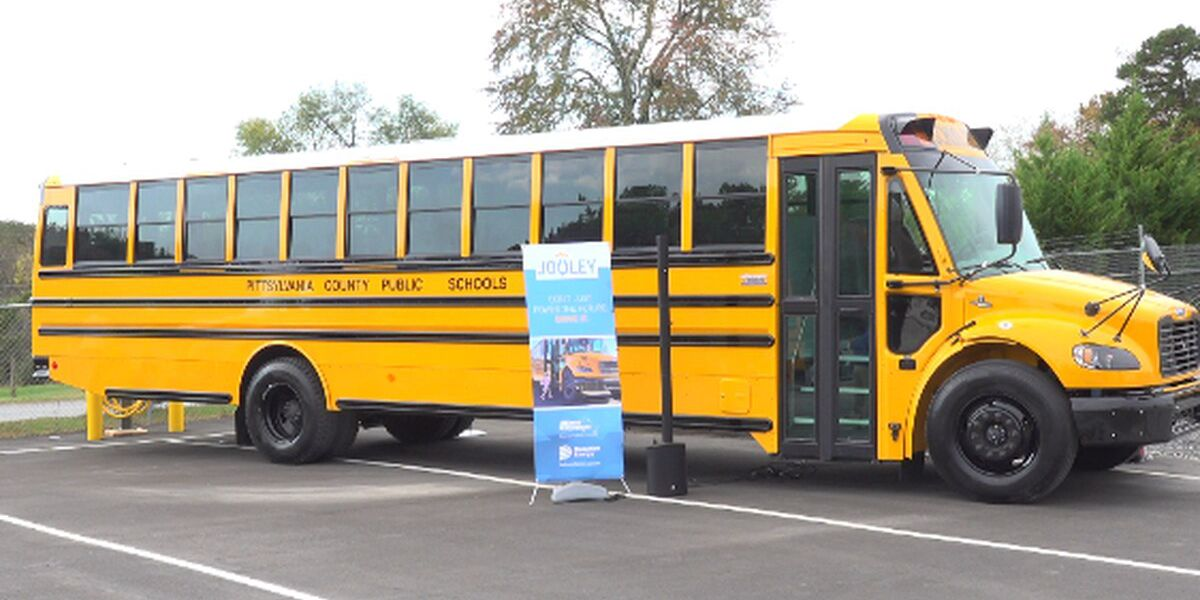 Electric school buses roll out across Virginia