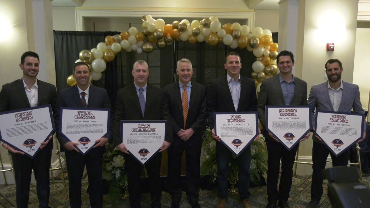 Six former Cavaliers inducted into UVa Baseball Hall of Fame