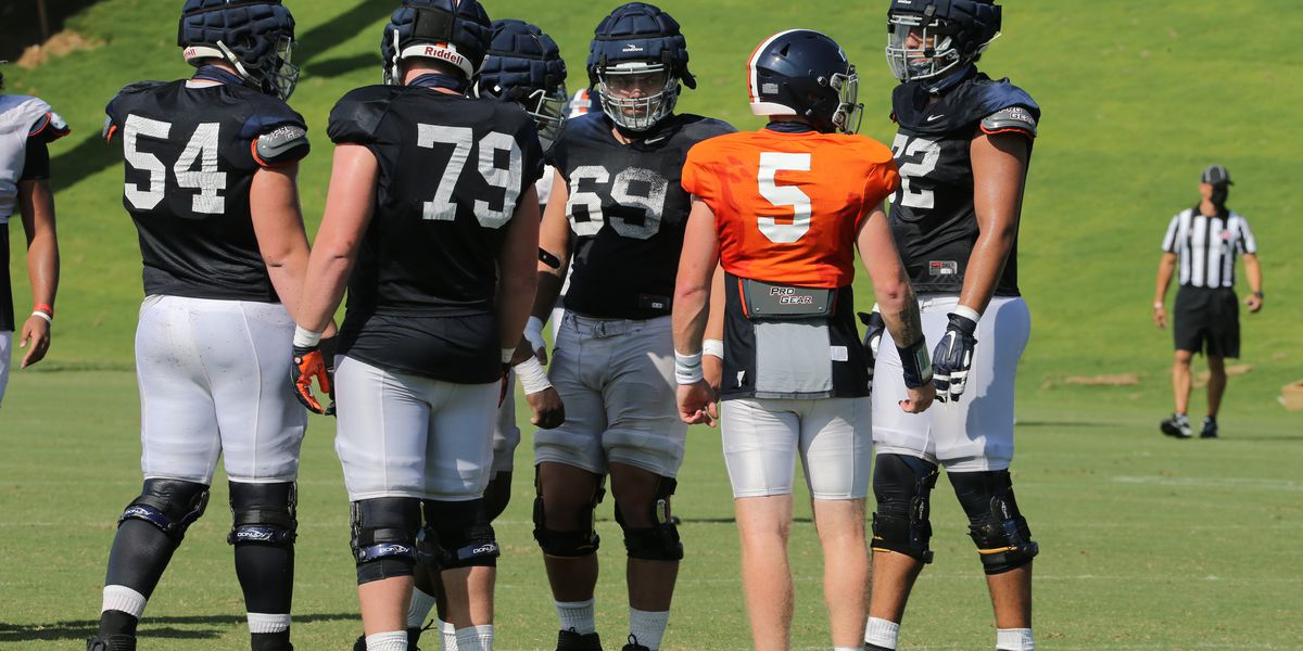 Veteran offensive line ready to lead the way for Virginia this season
