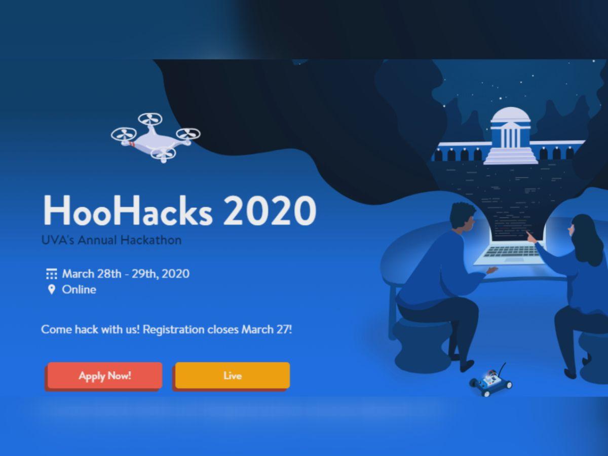 UVA HooHacks 2020 Hackathon underway online