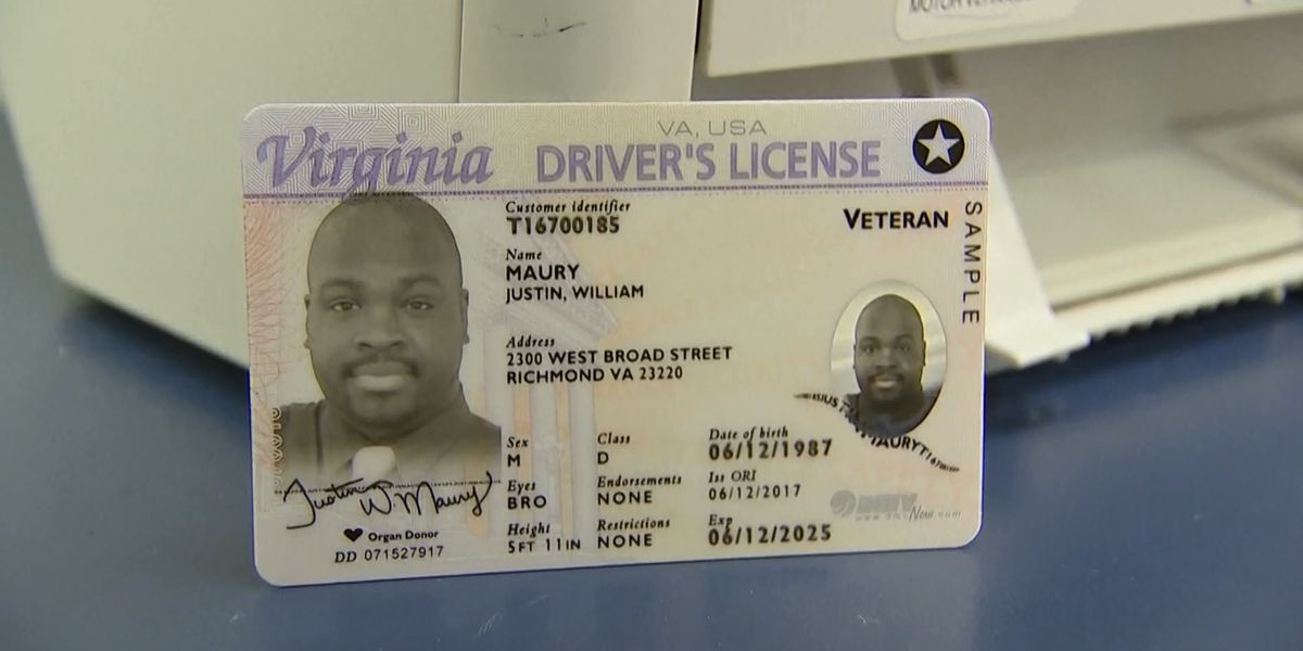 Virginia REAL ID start date approaches