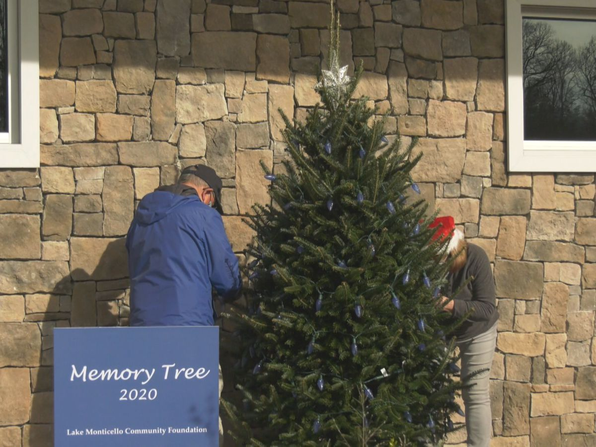 Lake Monticello starts memory tree tradition