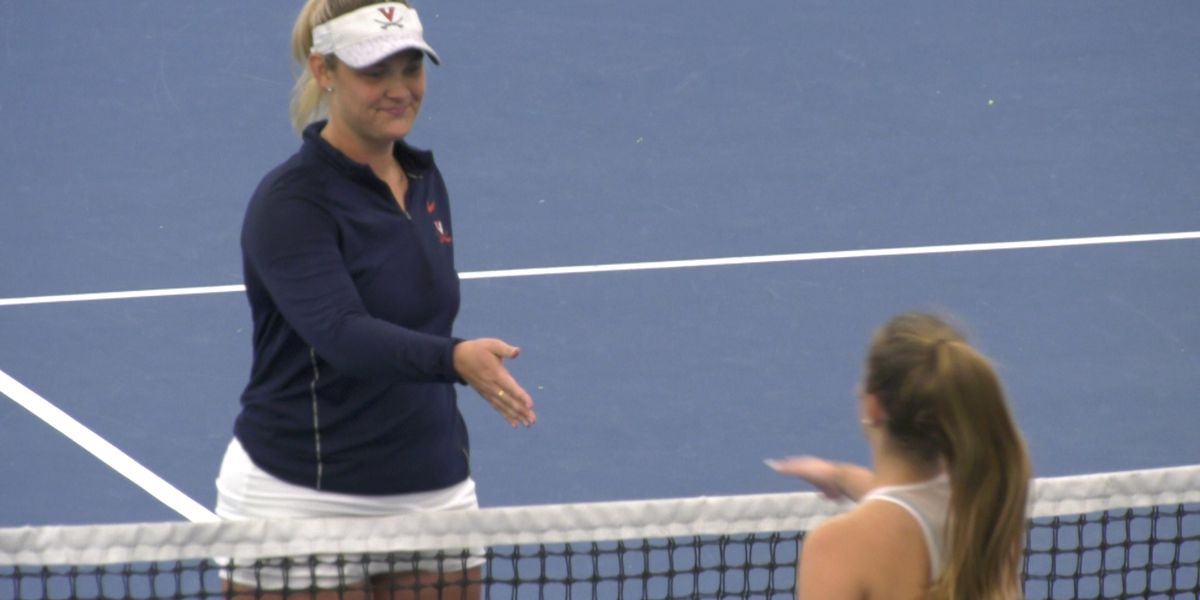 No. 20 UVa women's tennis beats Towson 7-0 in season opener