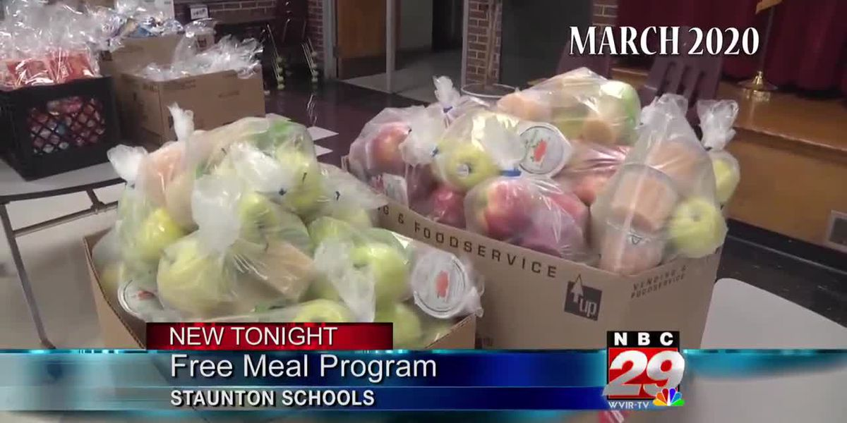 Staunton City Schools celebrate Farm to School month by providing local produce for families