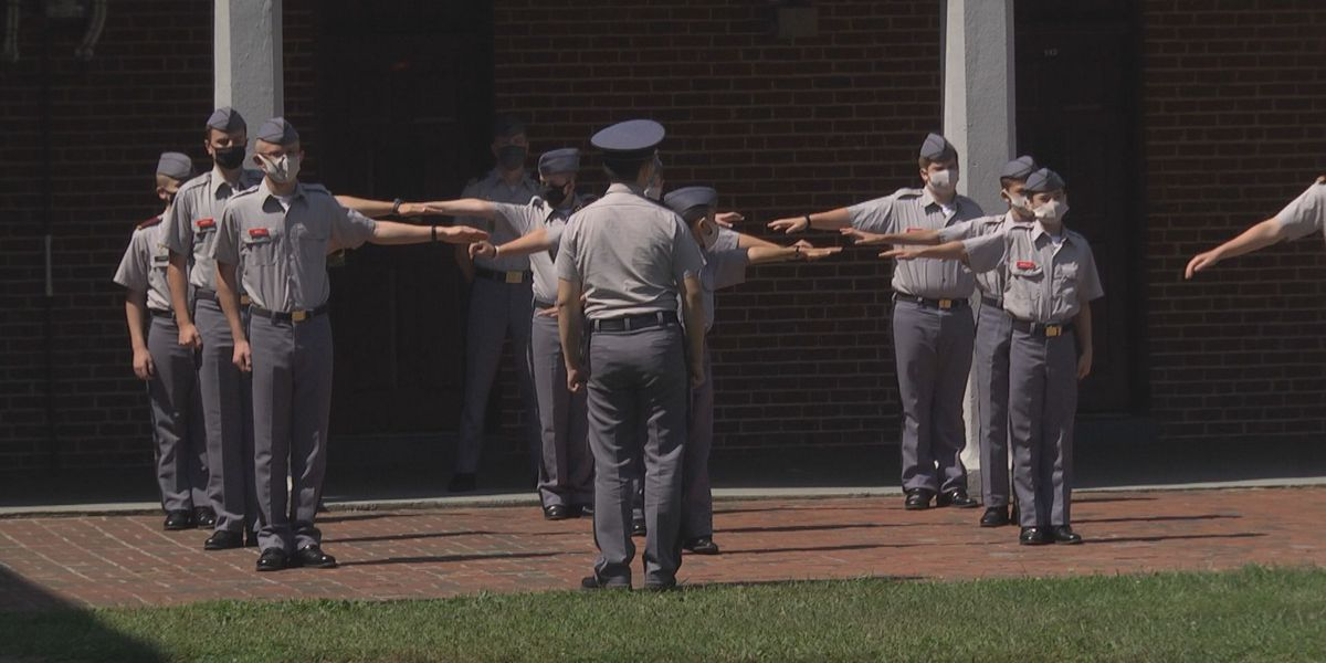 Fishburne Military School has had in-person classes since Aug. 15 with no COVID-19 cases
