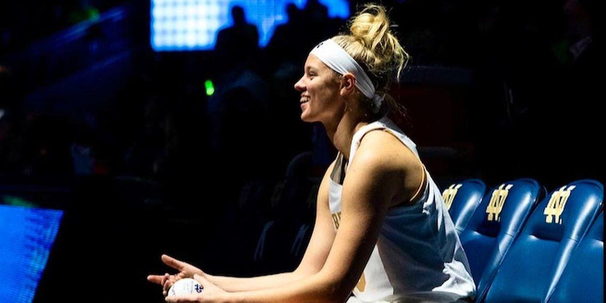 Samantha Brunelle scores 17; Notre Dame tops VA Tech 84-78