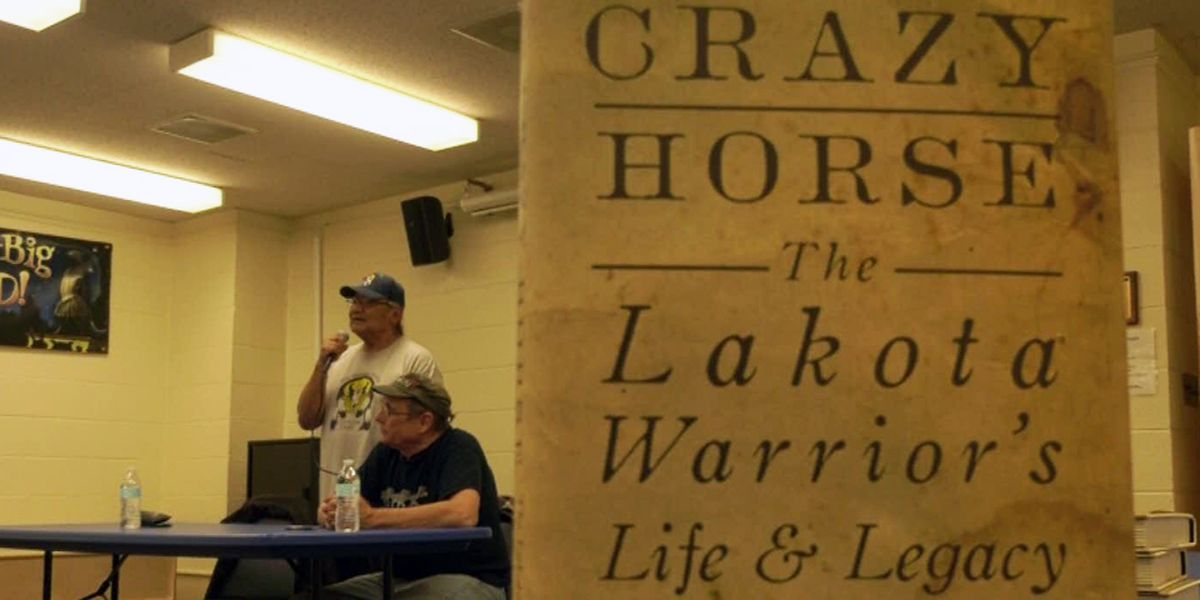 """Crazy Horse: The Lakota Warrior's Life and Legacy"" book signing, discussion held at Gordon Avenue Library"