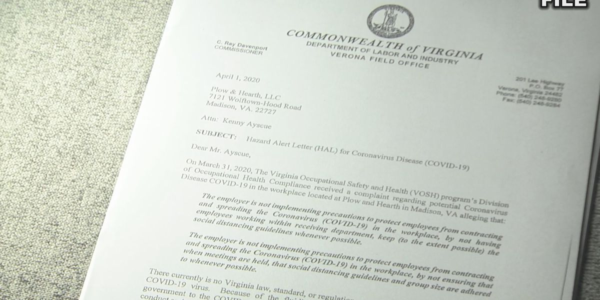 Health and Safety Board discusses possible emergency regulations for VA workplaces
