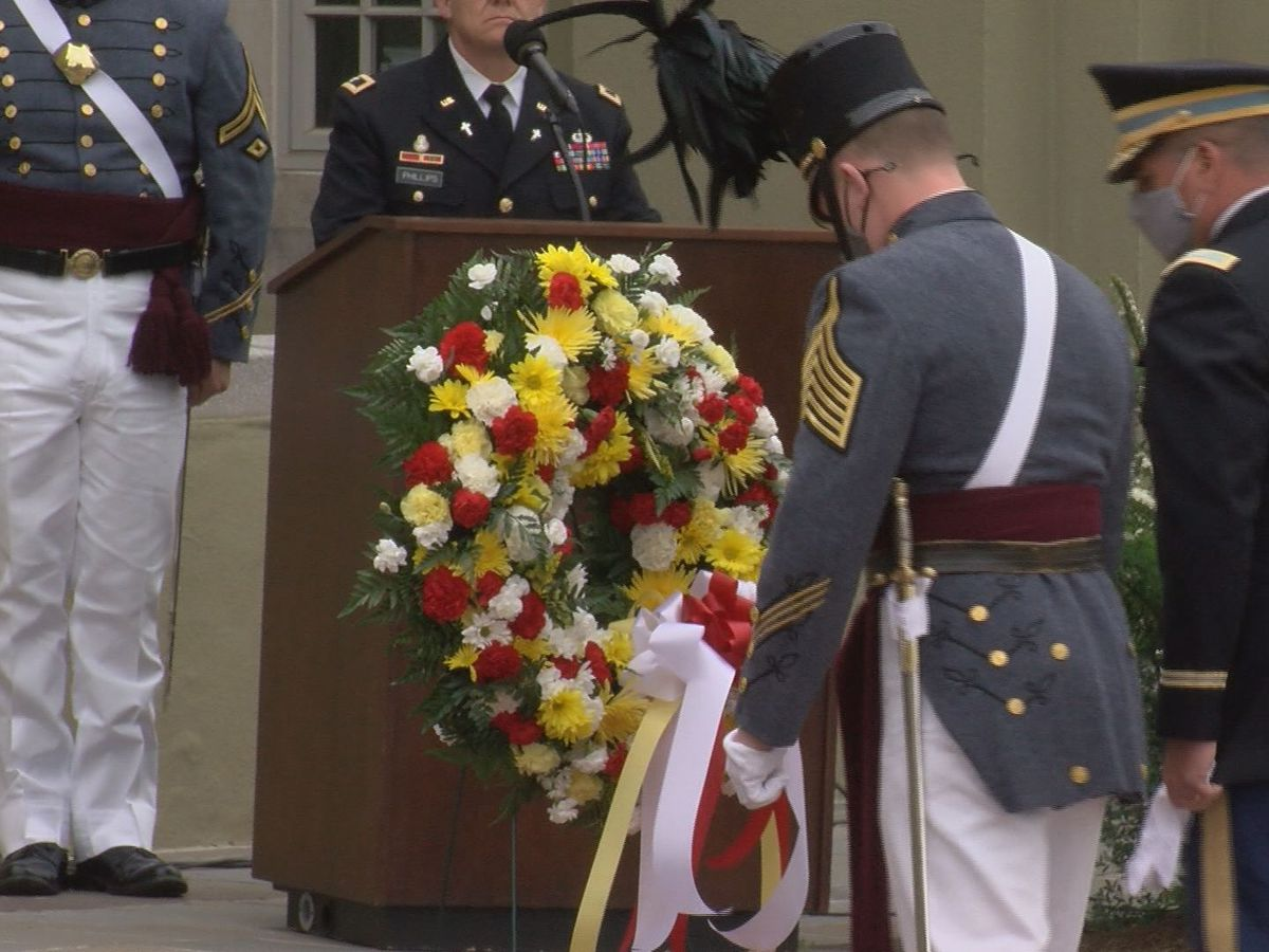Memorial parade replaces New Market commemoration at VMI