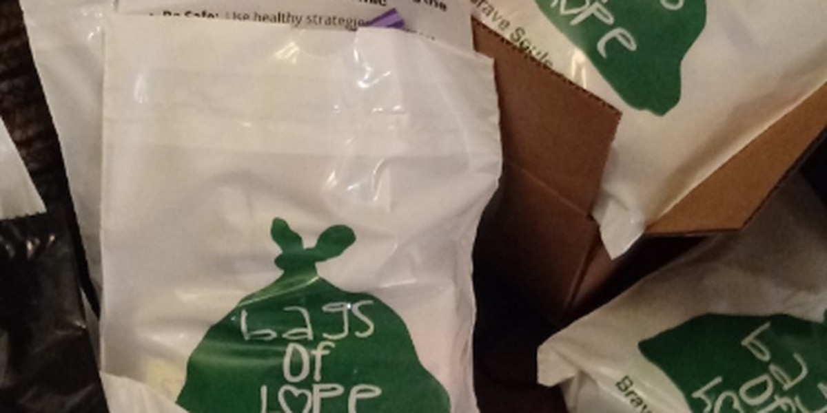 "Charlottesville nonprofit creates, distributes ""Bags of Hope"" to support mental health during pandemic"