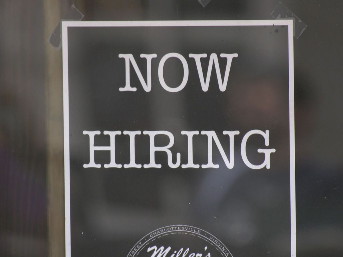 Unemployment rate in Charlottesville drops from April to May
