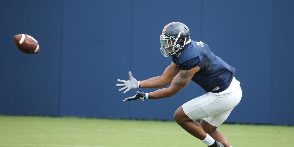 Former Woodberry Forest star Terrell Jana leading inexperienced UVA receivers