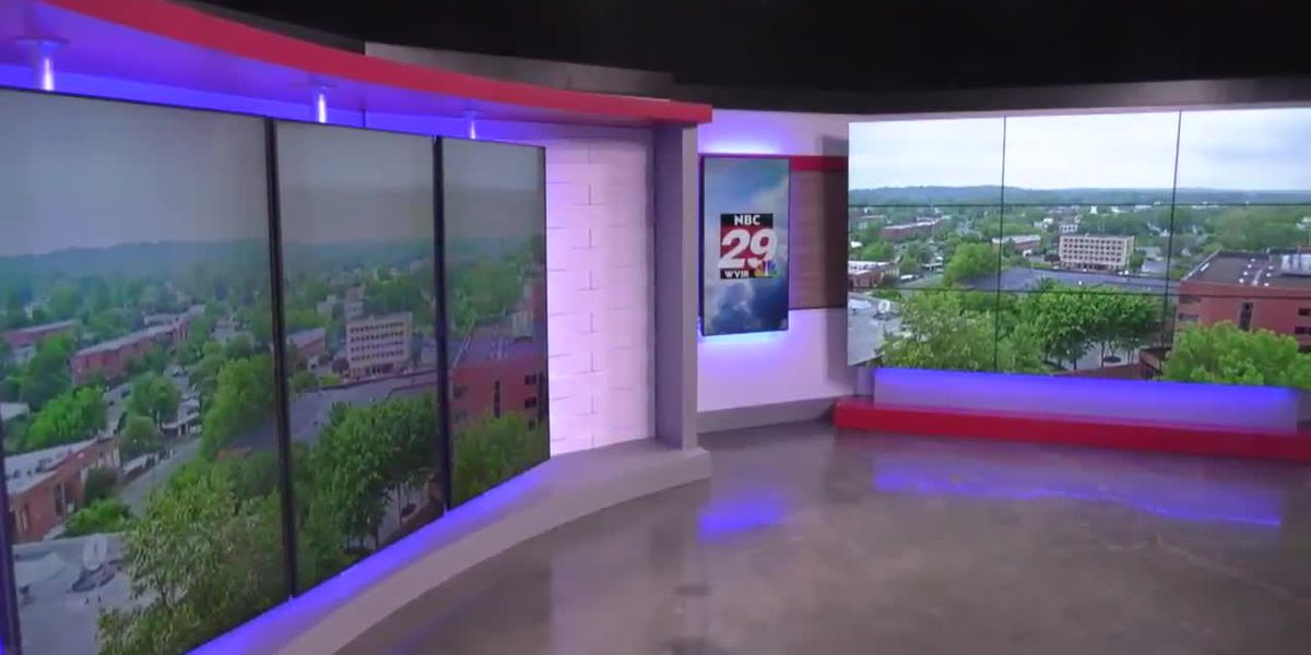 A behind the scenes look at the new NBC29 Studios