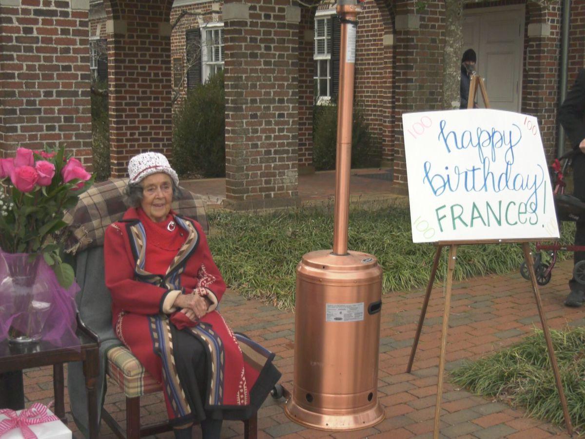 Emmanuel Episcopal Church celebrates member's 100th birthday