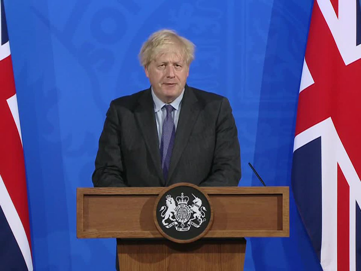 UK's Johnson delays lockdown easing for England by 4 weeks