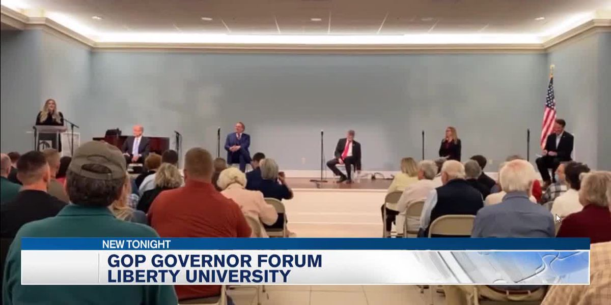 Republican candidates in Virginia's gubernatorial race meet at forum