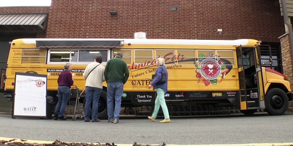 "CATEC students serve up ""whole foods"" in Technical Eats bus to raise funds"