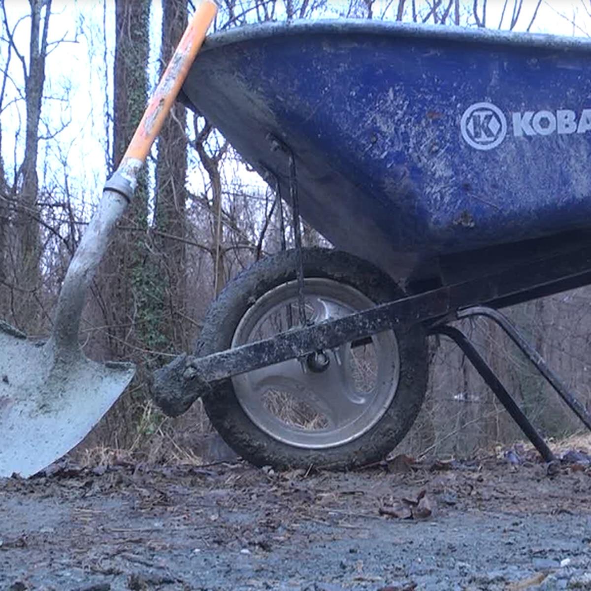 Charlottesville bikers help improve trails around Charlottesville.