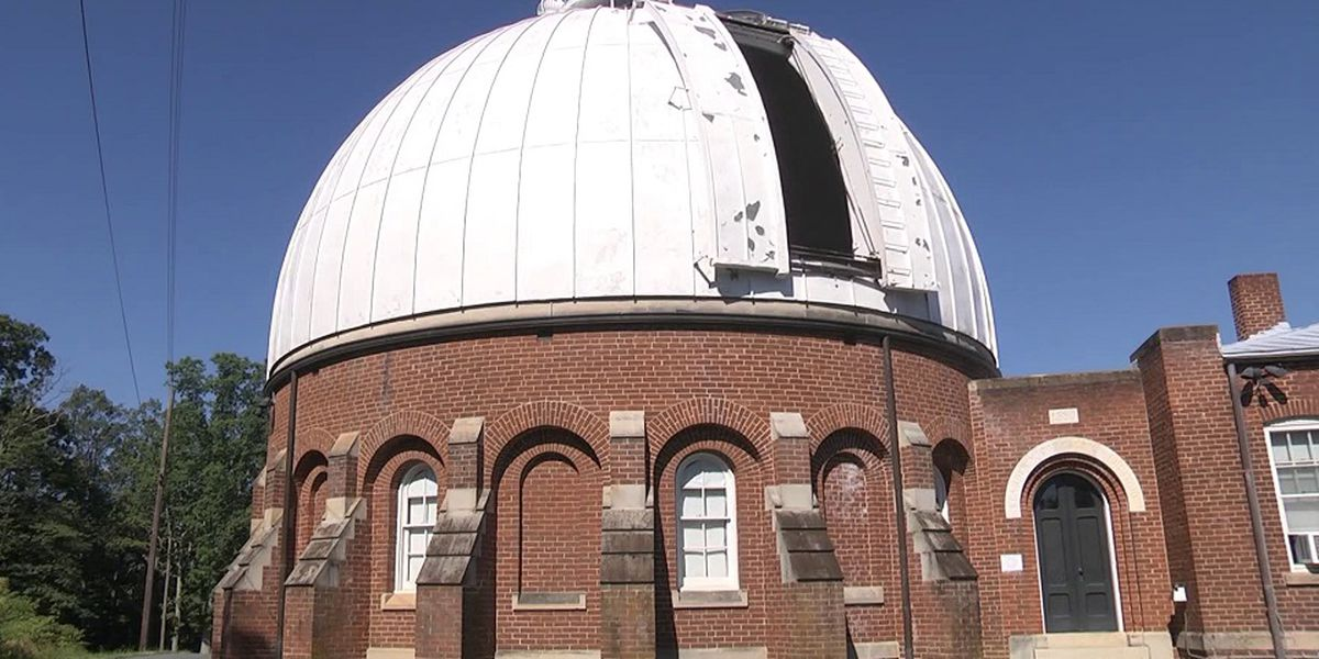 UVA observatory replaces original parts from 1884