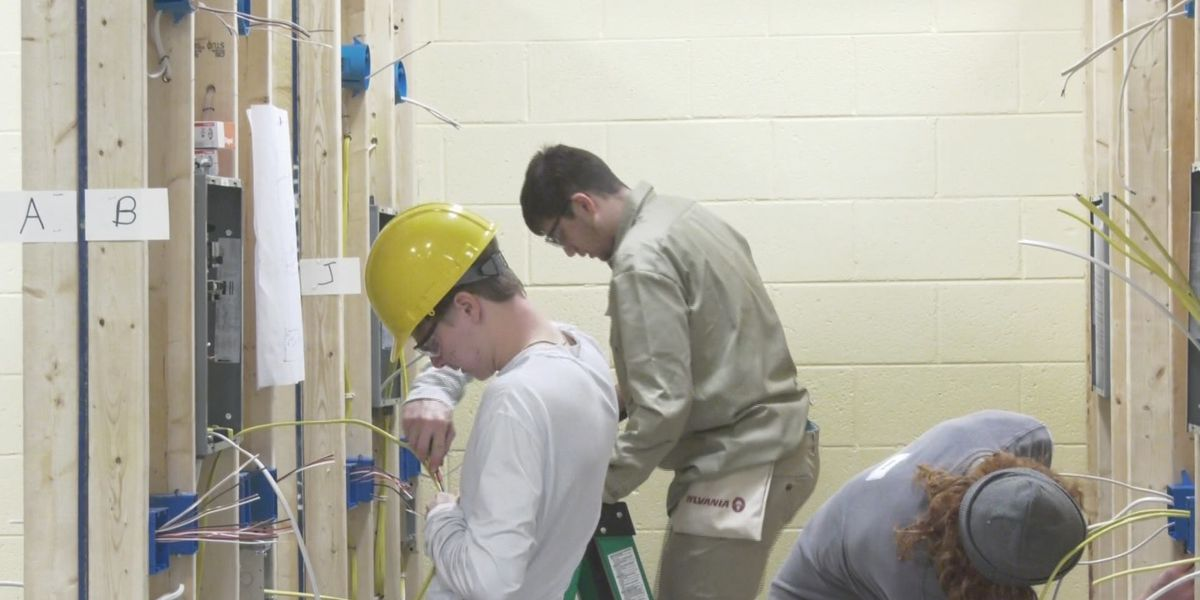 Students compete in skills assessment at CATEC