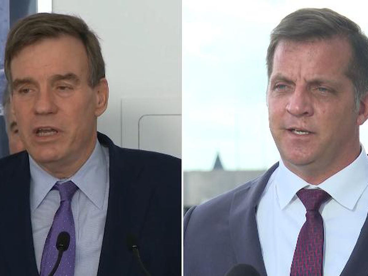 LIVE: Senator Mark Warner and Republican challenger Daniel Gade face-off in debate