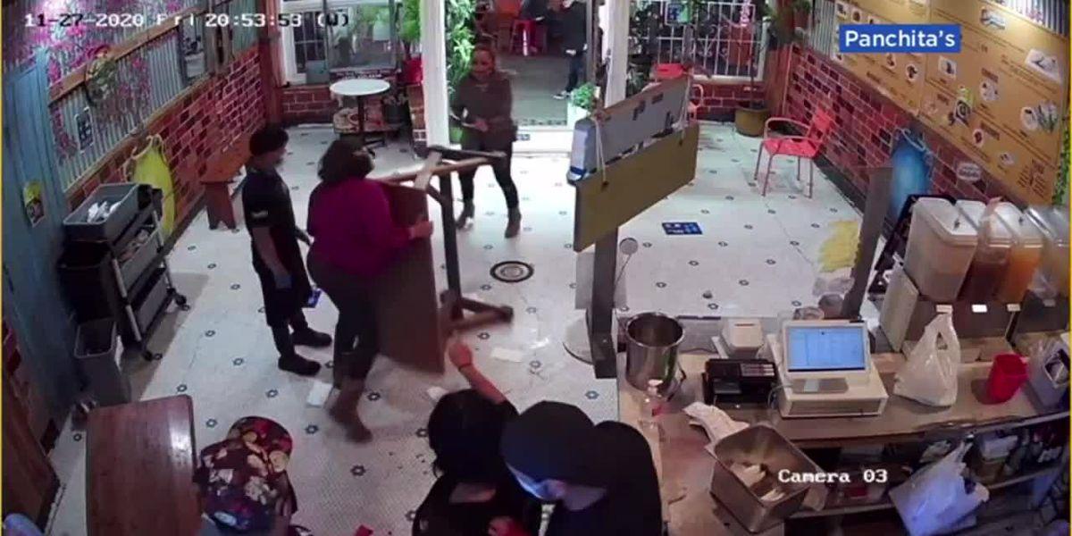 Caught on video: Customer, owner face off in Calif. restaurant fracas over late order