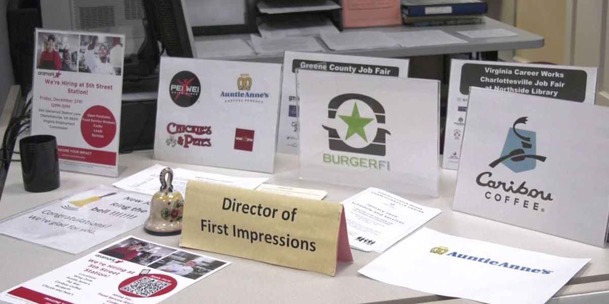 Job seekers applying for new businesses coming to Albemarle Co.