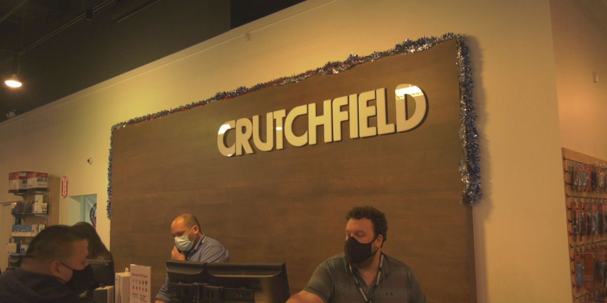 Crutchfield shares trends in electronic purchases