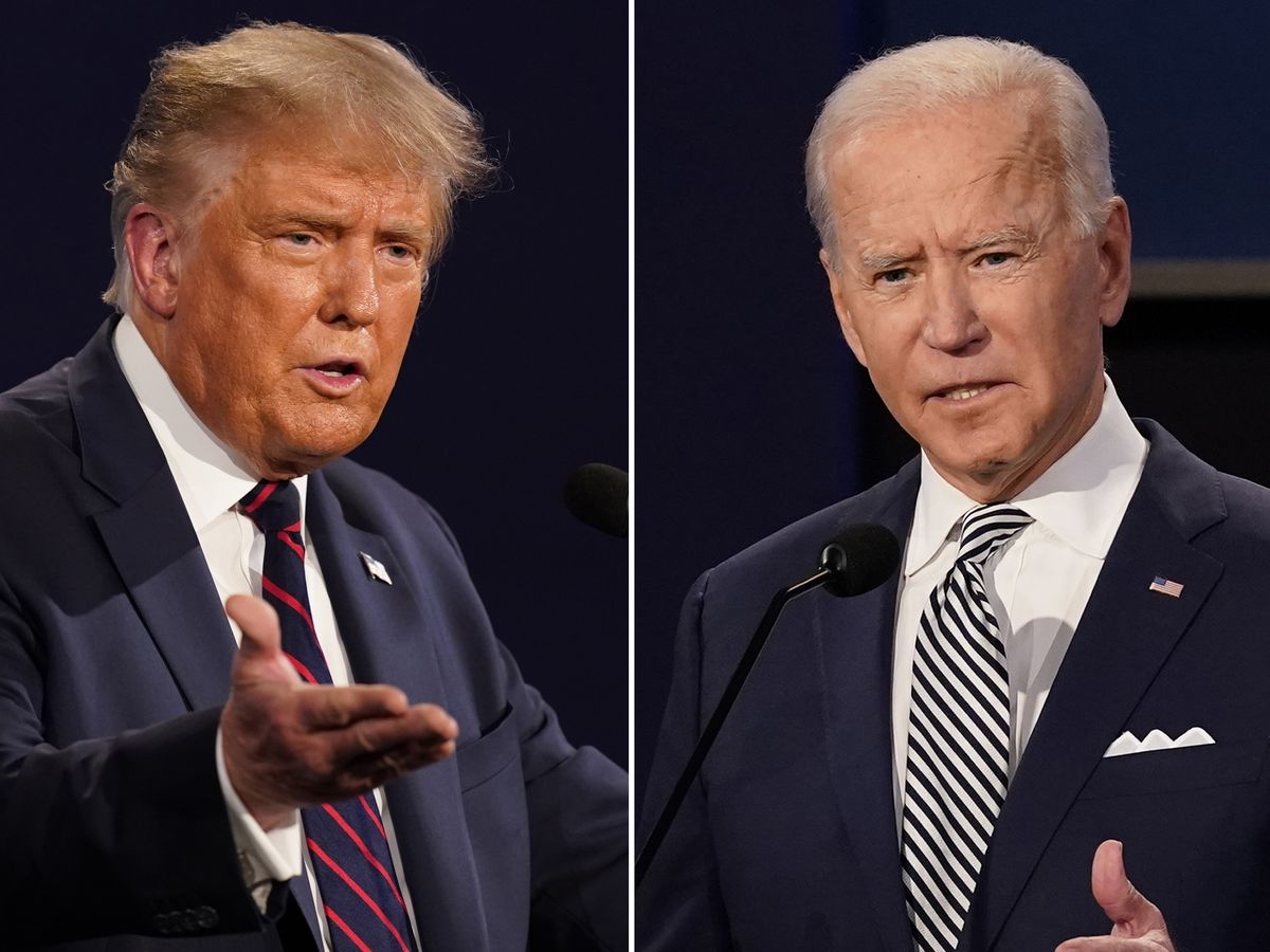 Biden returns to Iowa; Trump plays defense in Mich., Wis.