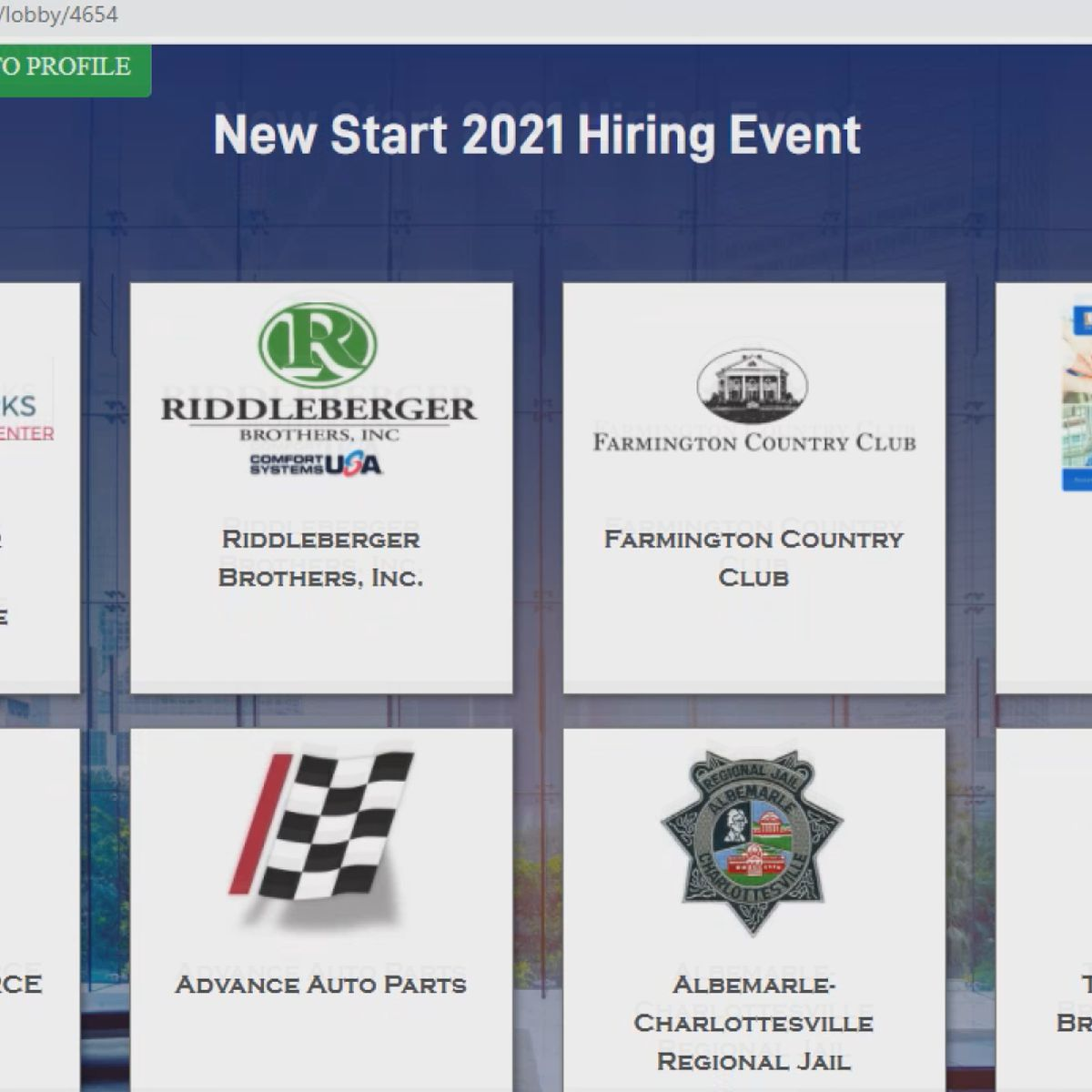 Virtual job fair held in Charlottesville