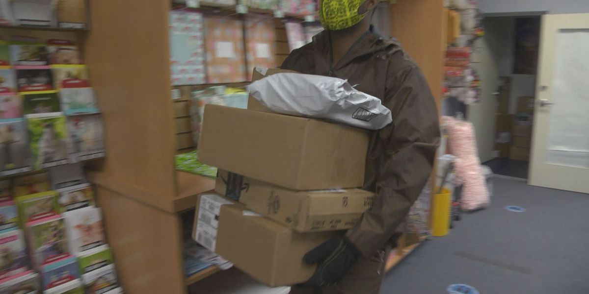 Mailbox Express says early preparation help make last-minute Christmas shipping possible