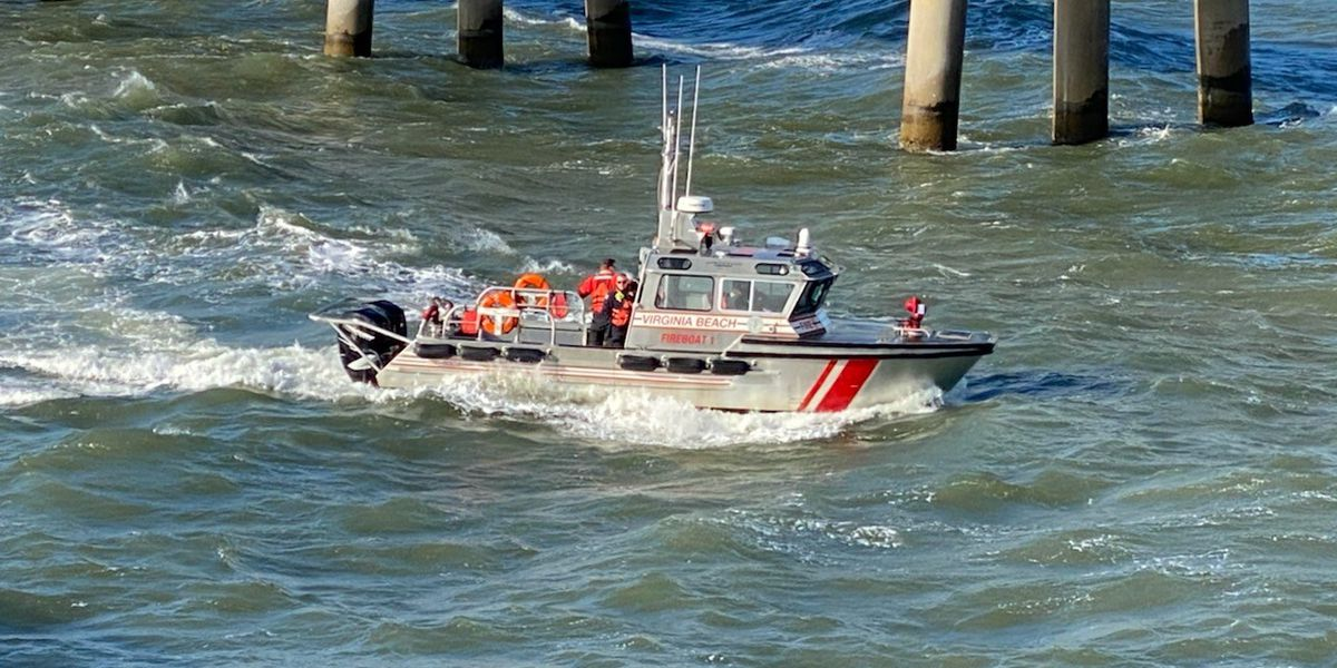 Search continues for driver of truck that plunged into bay