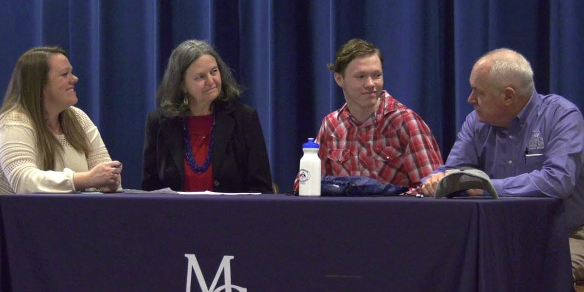 Madison Co. student signs apprenticeship acceptance letter