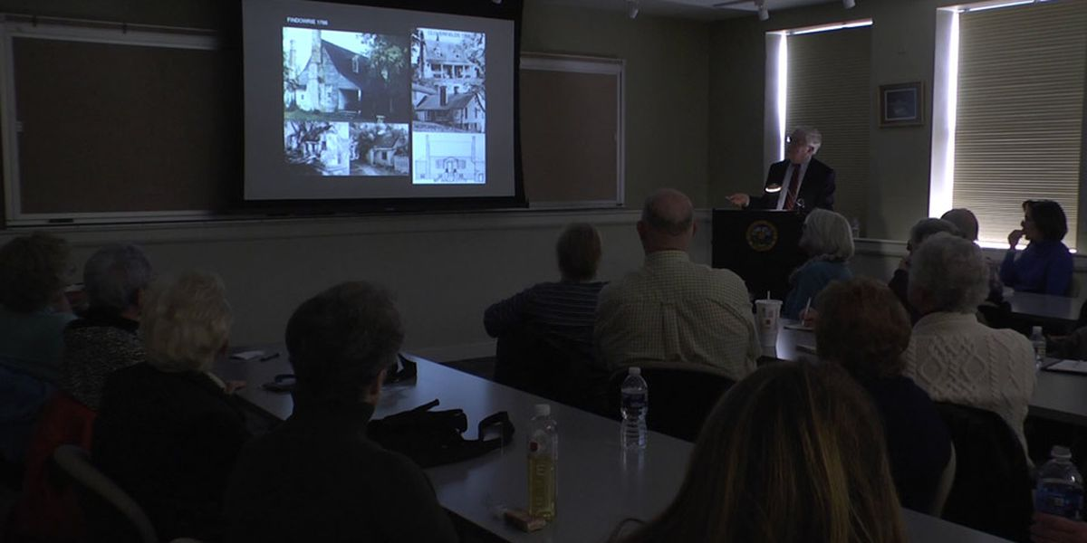 Professor offers Albemarle Co. history lesson during 'Lunch and Learn'
