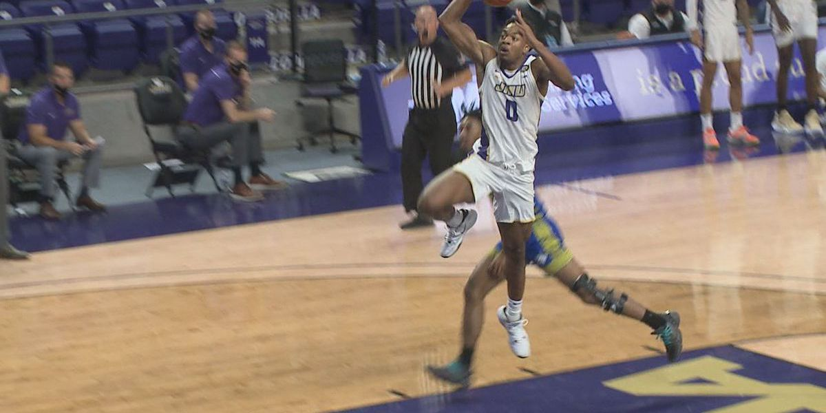 Dukes dominate Limestone in Atlantic Union Bank Center opener