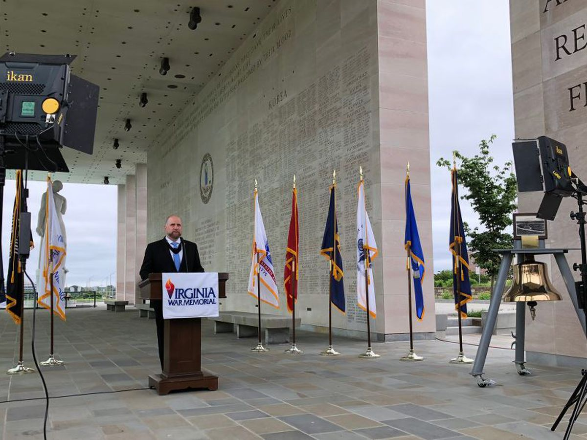 Virginia's 64th Annual Memorial Day Ceremony streamed online