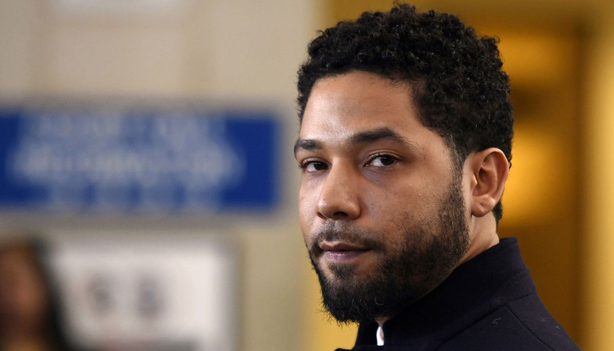 Image result for Jussie Smollett pleads not guilty to felony charges in Chicago court