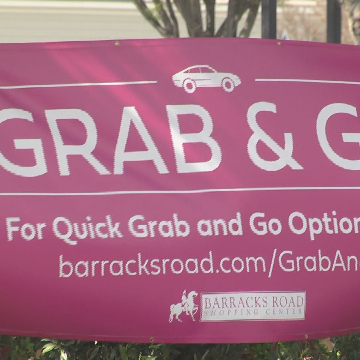 """Barracks Road businesses join together, launch """"Grab and Go"""" campaign"""