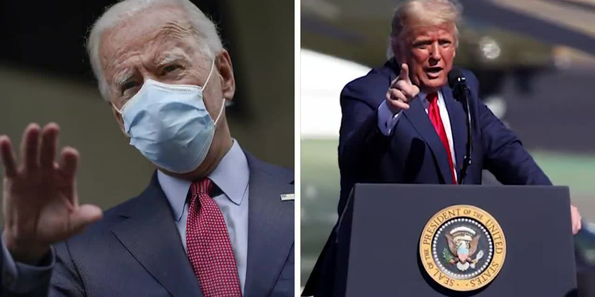 Biden and Trump holding dueling rallies in Florida