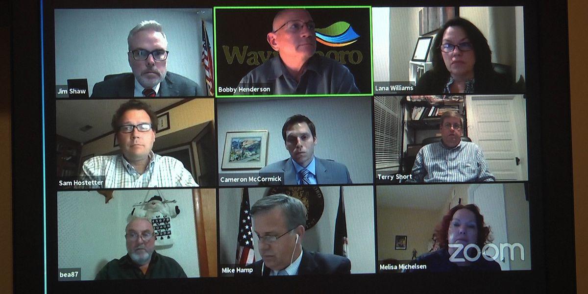 Waynesboro leaders consider one-time hazard pay and bonus for city employees