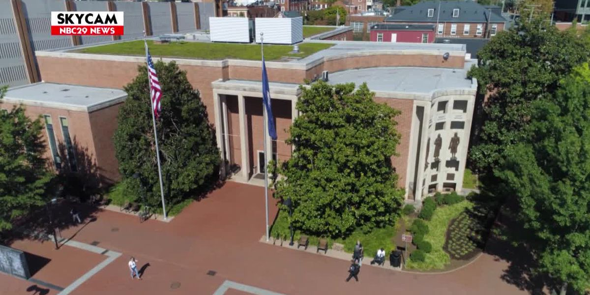 Charlottesville City Hall, Police Department lobby closed on August 12