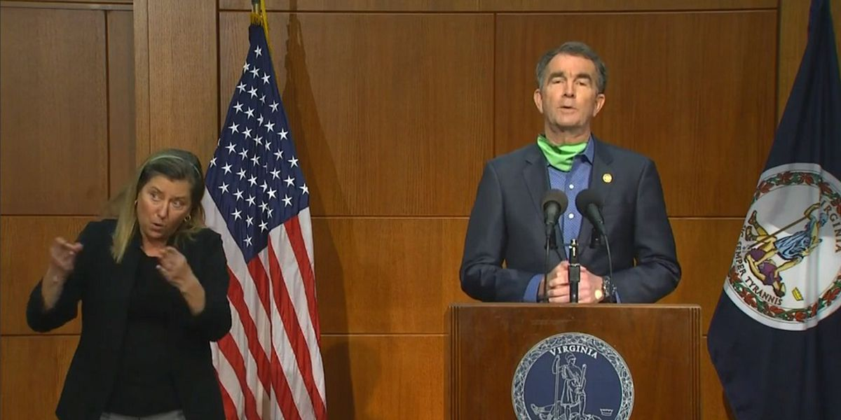 Gov. Northam announces opening of Va. Beach during briefing on COVID-19