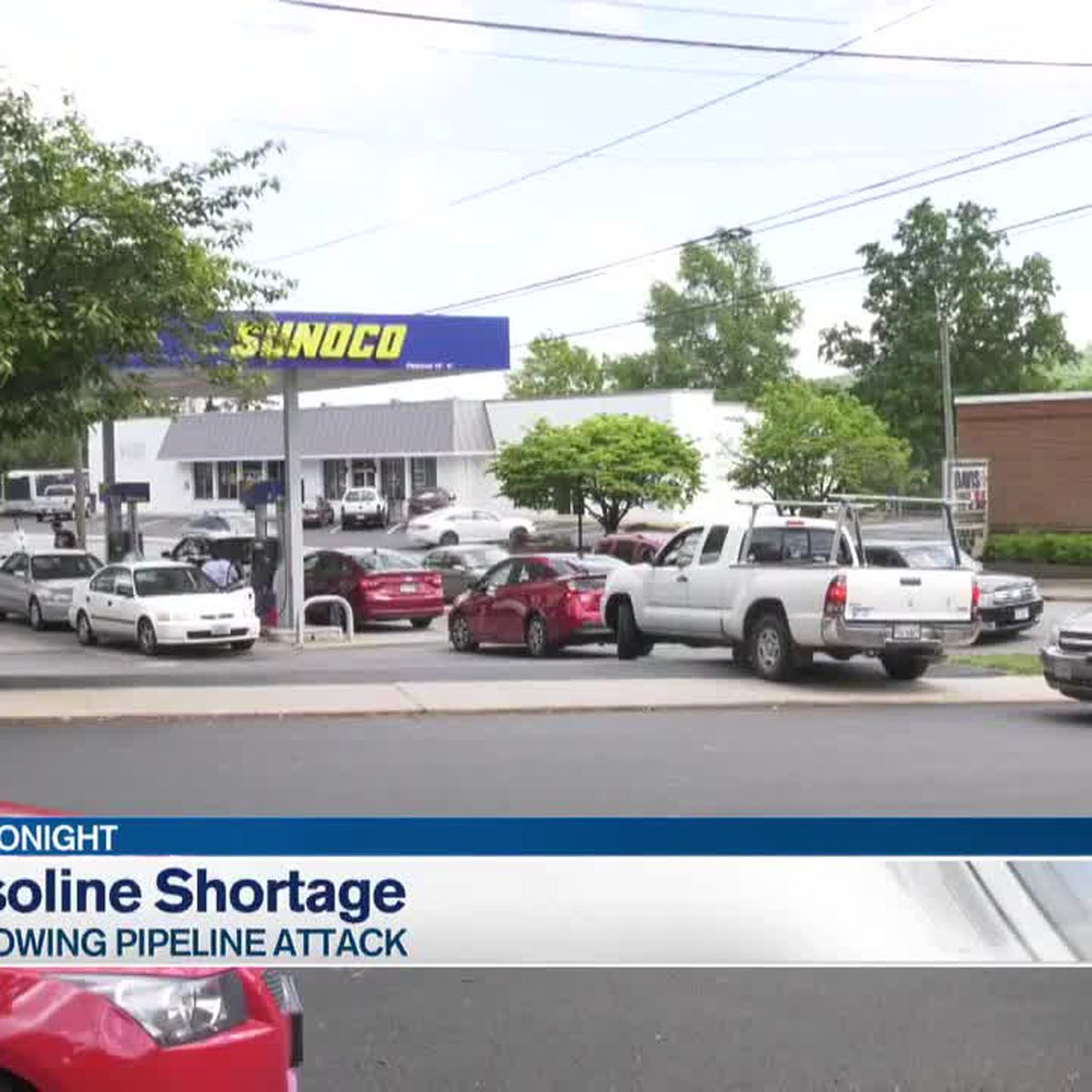 National gas shortages reach Charlottesville