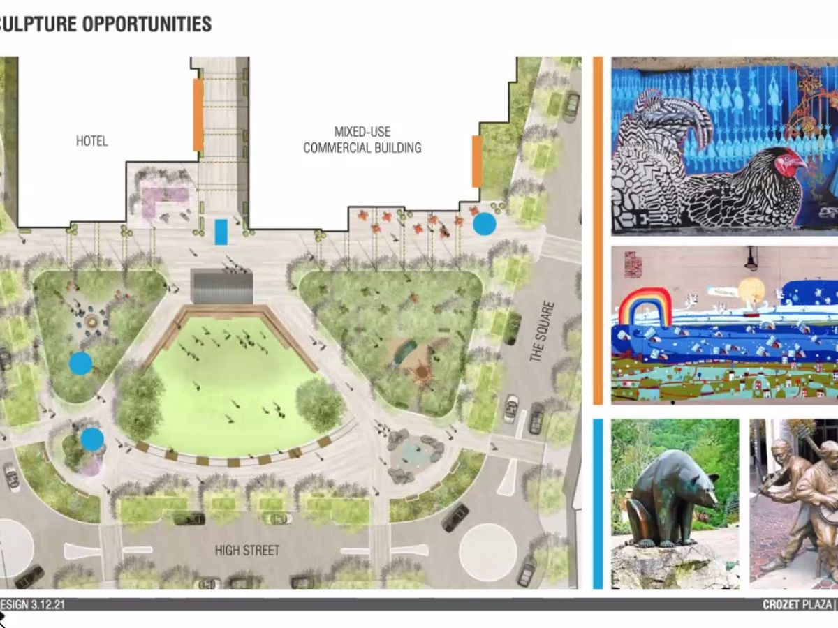 Crozet Downtown Community Initiative reveals renderings of new downtown space