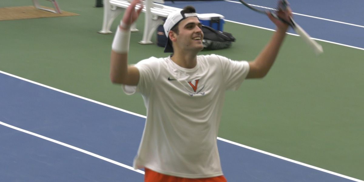 Virginia men's tennis beat Boston College 6-1 for first ACC victory